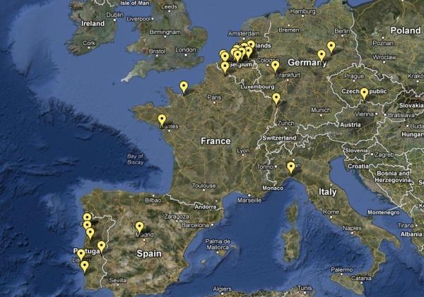 Mapa Danças Ocultas 2012